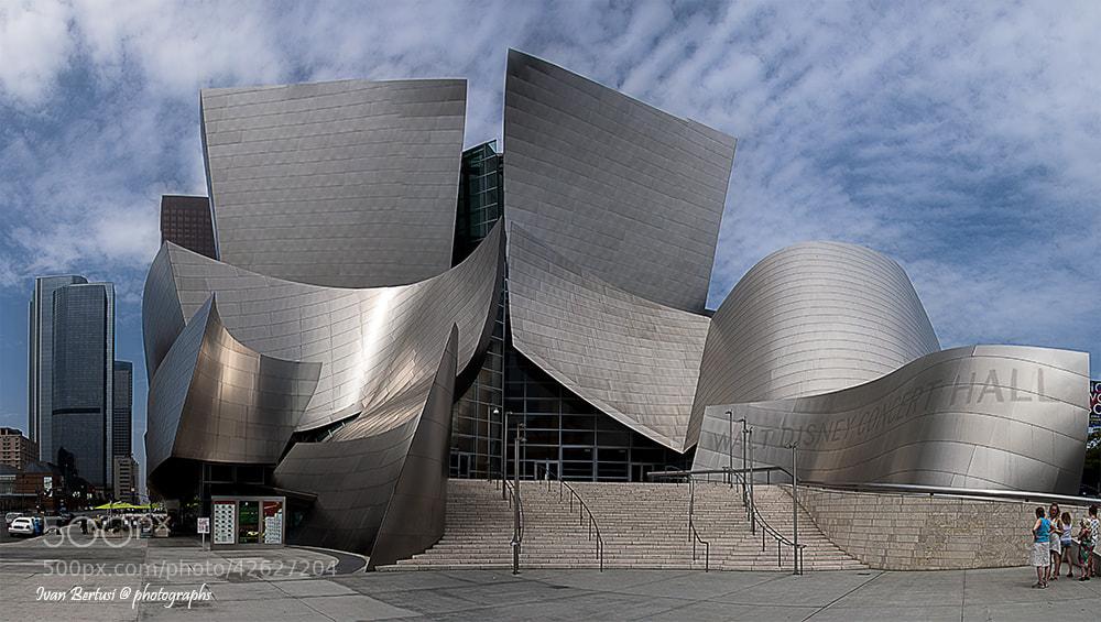 Photograph Walt Disney Concert Hall - Panoramic by Ivan Bertusi on 500px