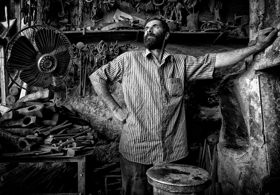 Photograph Blacksmith by Hamidreza Sheikhmorteza on 500px