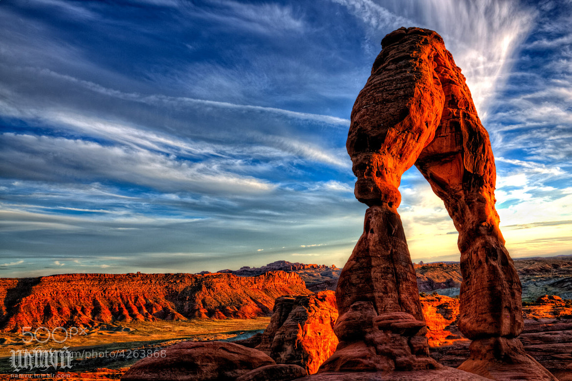 Photograph The Delicate Arch by Nam Vu on 500px