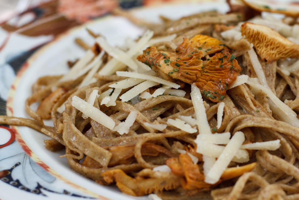 Photograph Rye Noodles and Chanterelles by Alessandra Magini on 500px