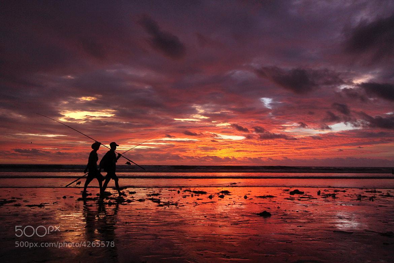 Photograph Kuta Beach Sunset by Helminadia Ranford on 500px