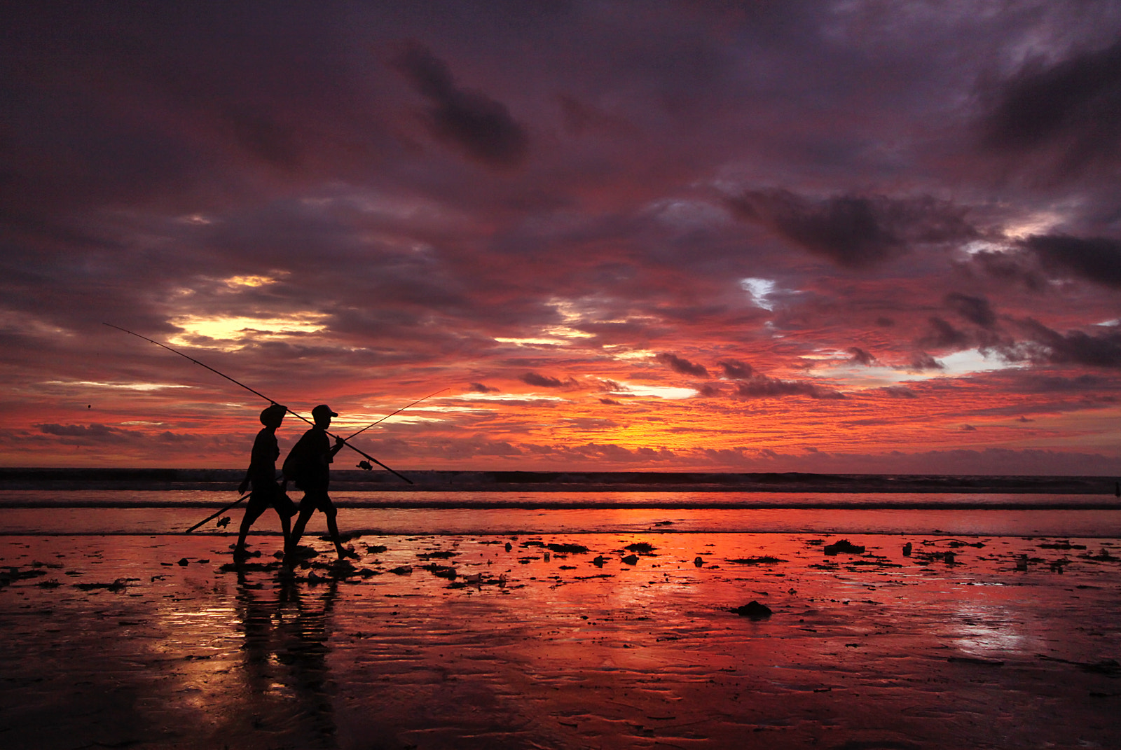 Photograph Kuta Beach Sunset by Helminadia Ranford on 500px