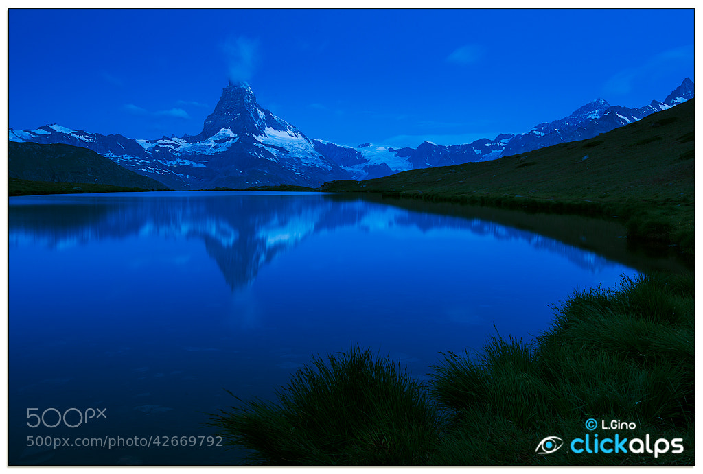 Photograph BLUE MATTERHORN by Luca Gino on 500px