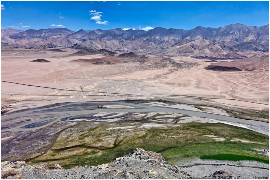 A View From The Hanle Gompa