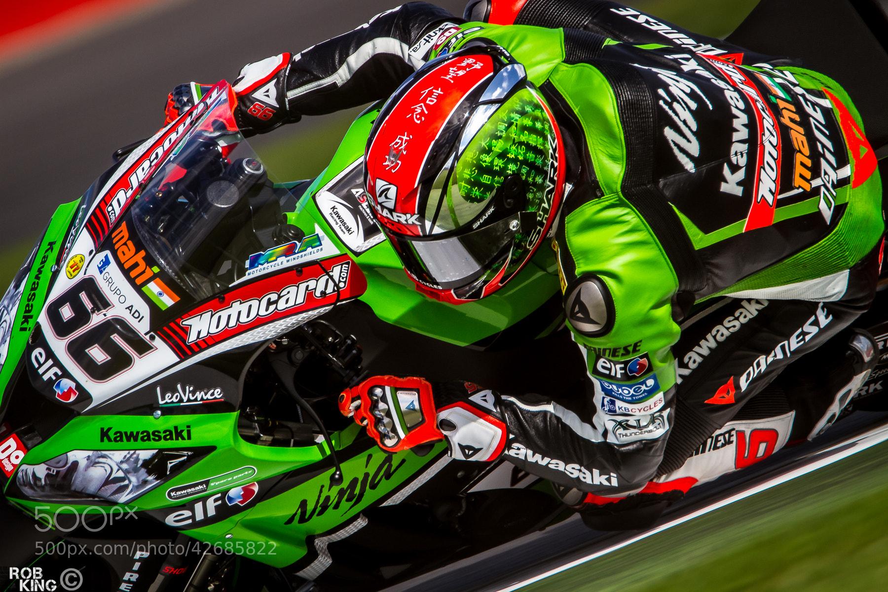 Photograph Tom Sykes - Kawasaki Racing Team by Robert King on 500px