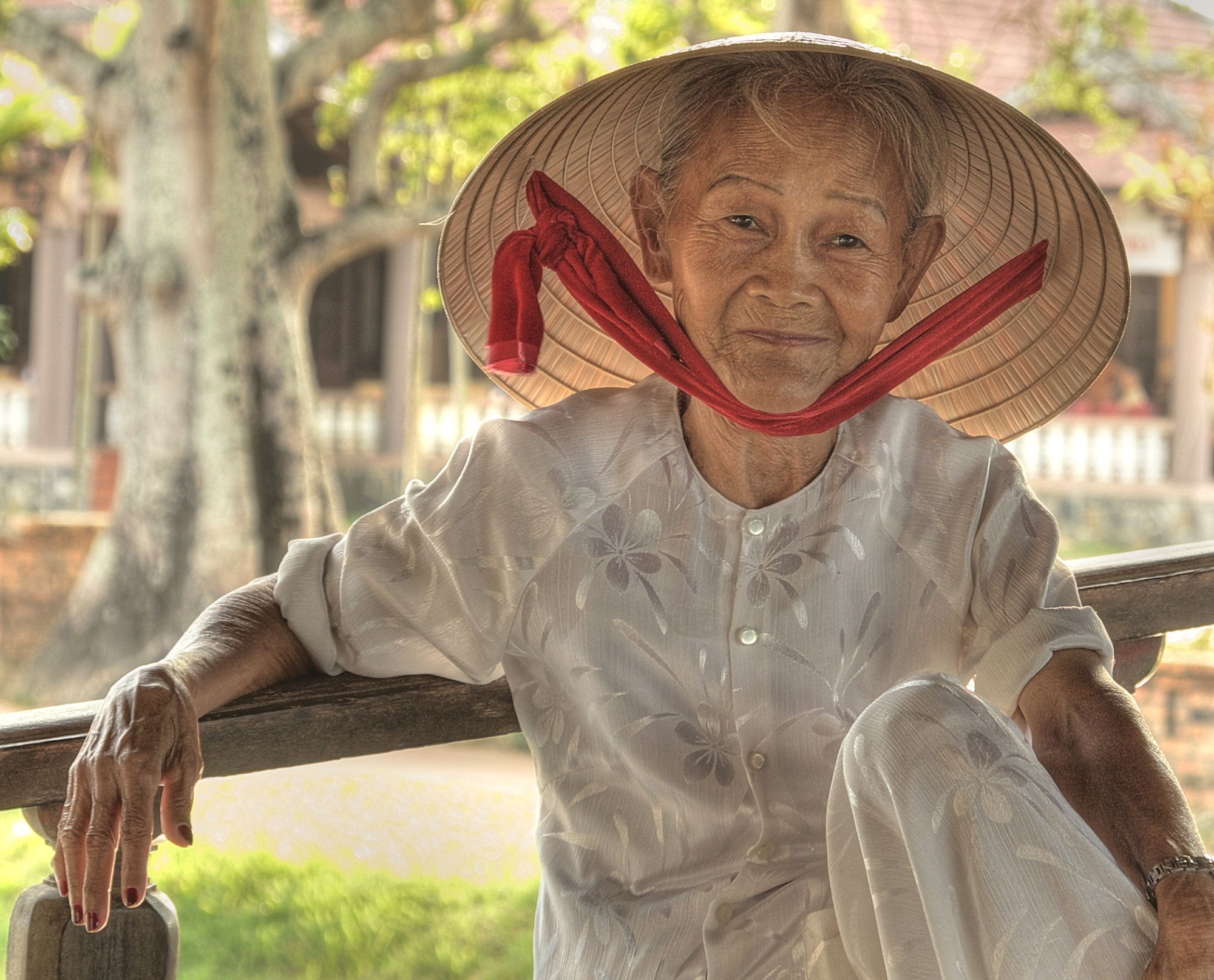 Photograph Old Lady in Vietnam by Tashi_Delek Nakata on 500px