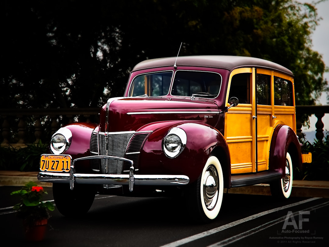 Photograph '40 Ford Woodie by Royce Rumsey on 500px