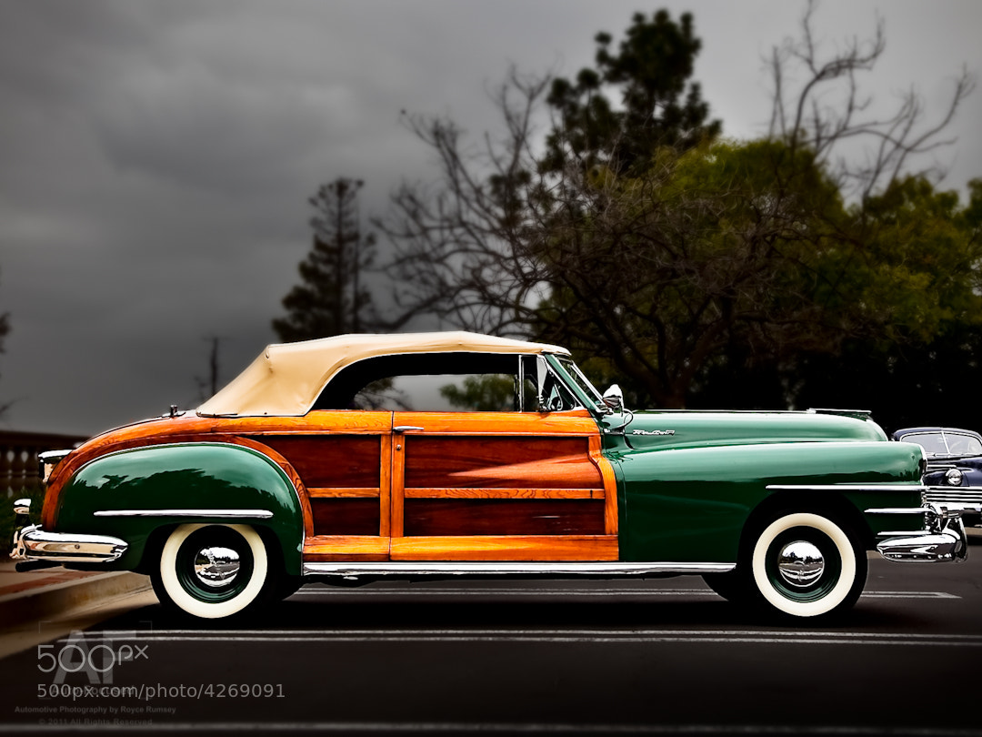 Photograph Chrysler Town & Country  by Royce Rumsey on 500px