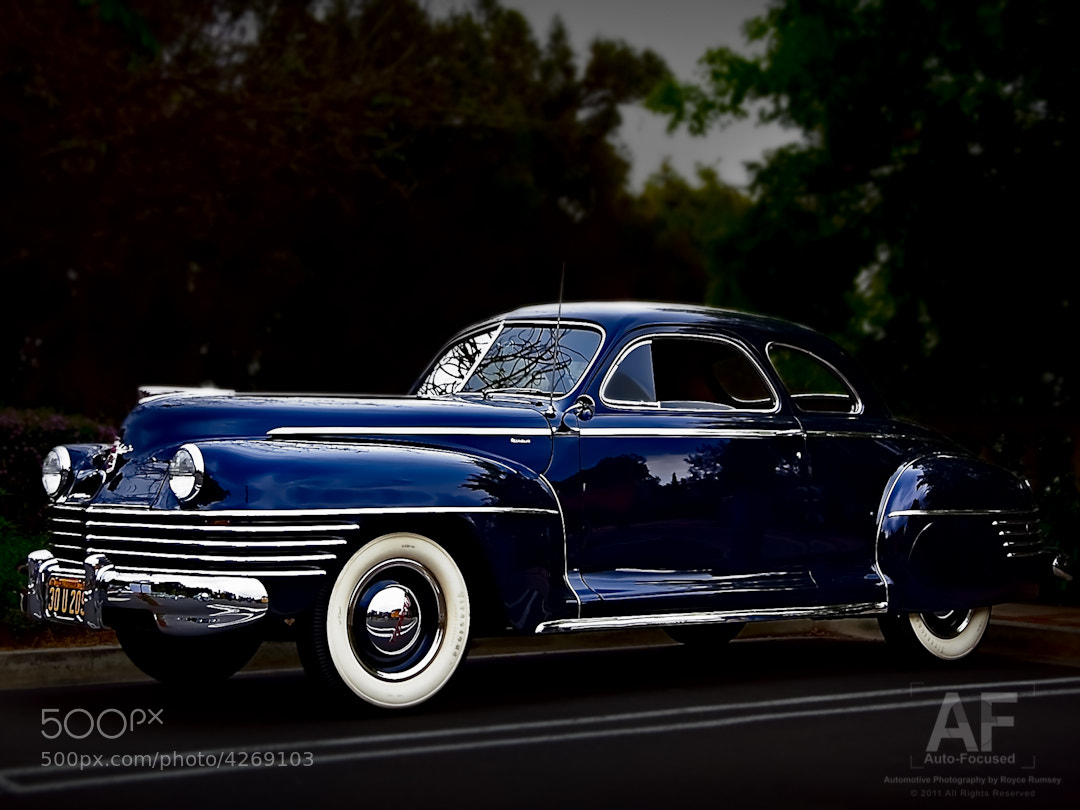 "Photograph Chrysler ""Businessman's Coupe"" by Royce Rumsey on 500px"