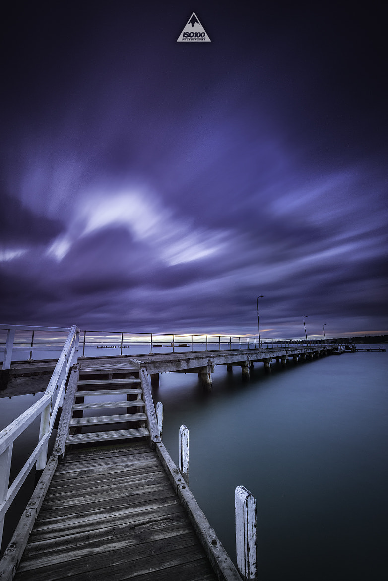 Photograph Black Rock Pier. Melbourne, Australia. by Iso100 Photography on 500px