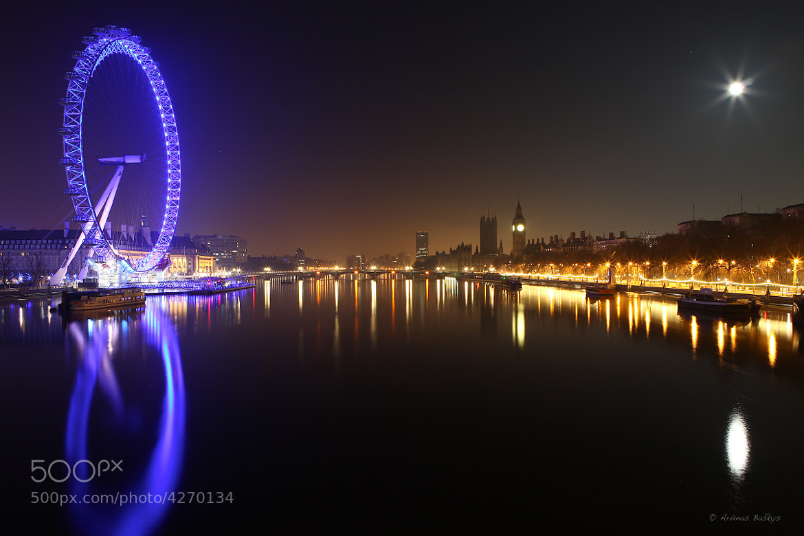 Photograph London at night by Arūnas Baškys on 500px