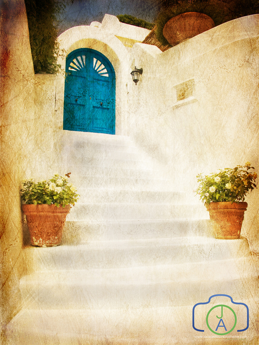 Photograph White Door - Sepia Overlay by Jack L. Aiello on 500px
