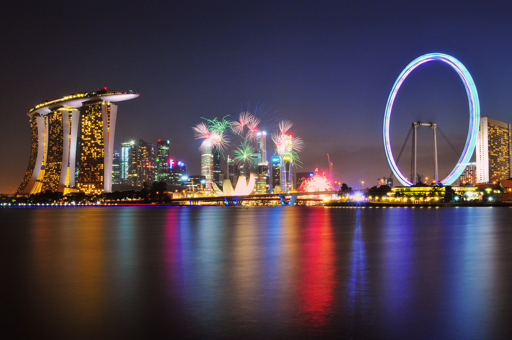 Photograph Happy Birthday Singapore by Heshan  de Mel on 500px
