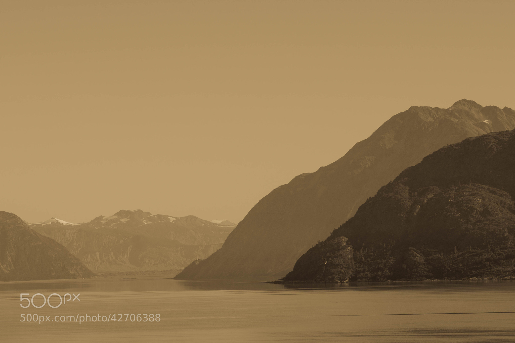Photograph Glacier Bay Hills by Charles  Olsen on 500px