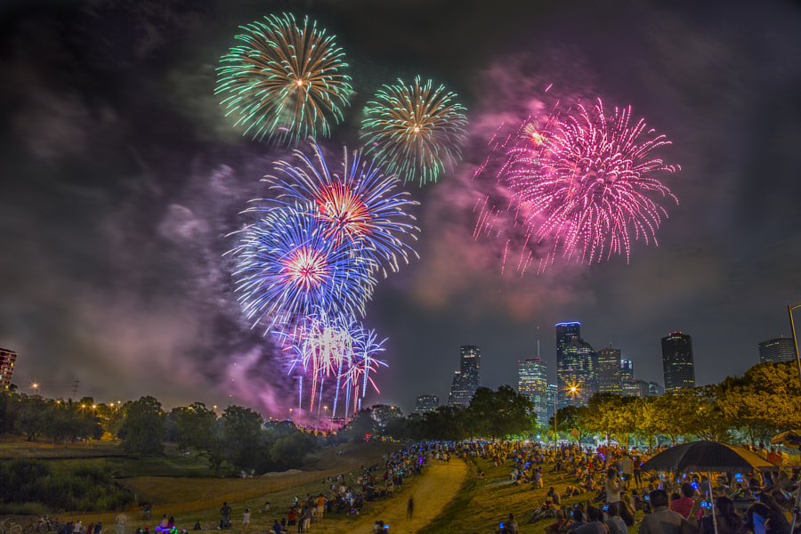 Photograph Houston on the 4th by Micah Goff on 500px