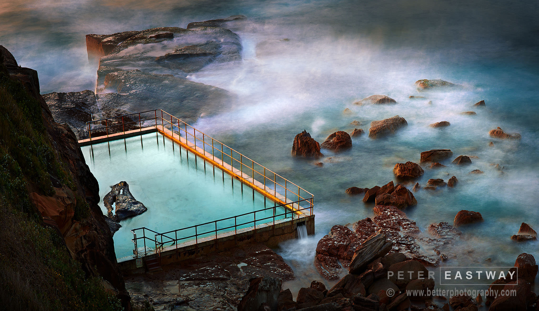 Photograph North Curl Curl Pool by Peter Eastway on 500px