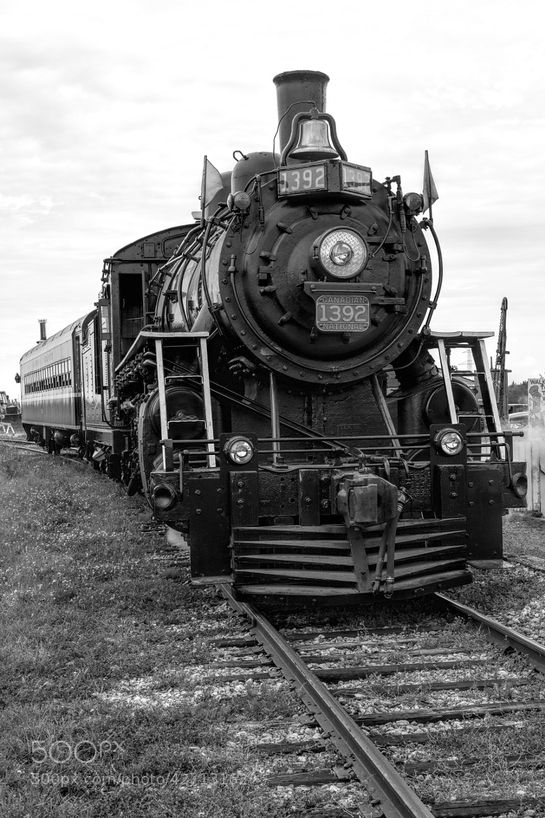 Photograph Steam engine in Black and white by Ron Palmer on 500px