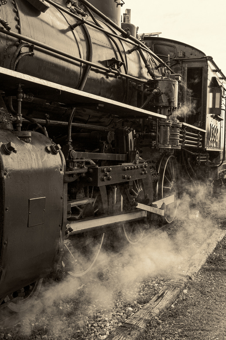 Photograph Steam Power rail by Ron Palmer on 500px