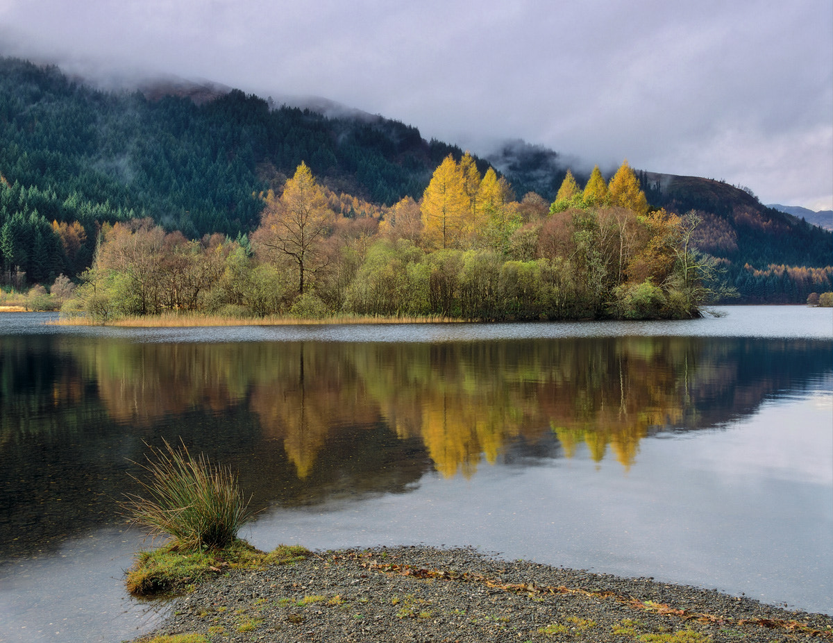 Photograph Autumn Loch Chon by Ian Cameron on 500px