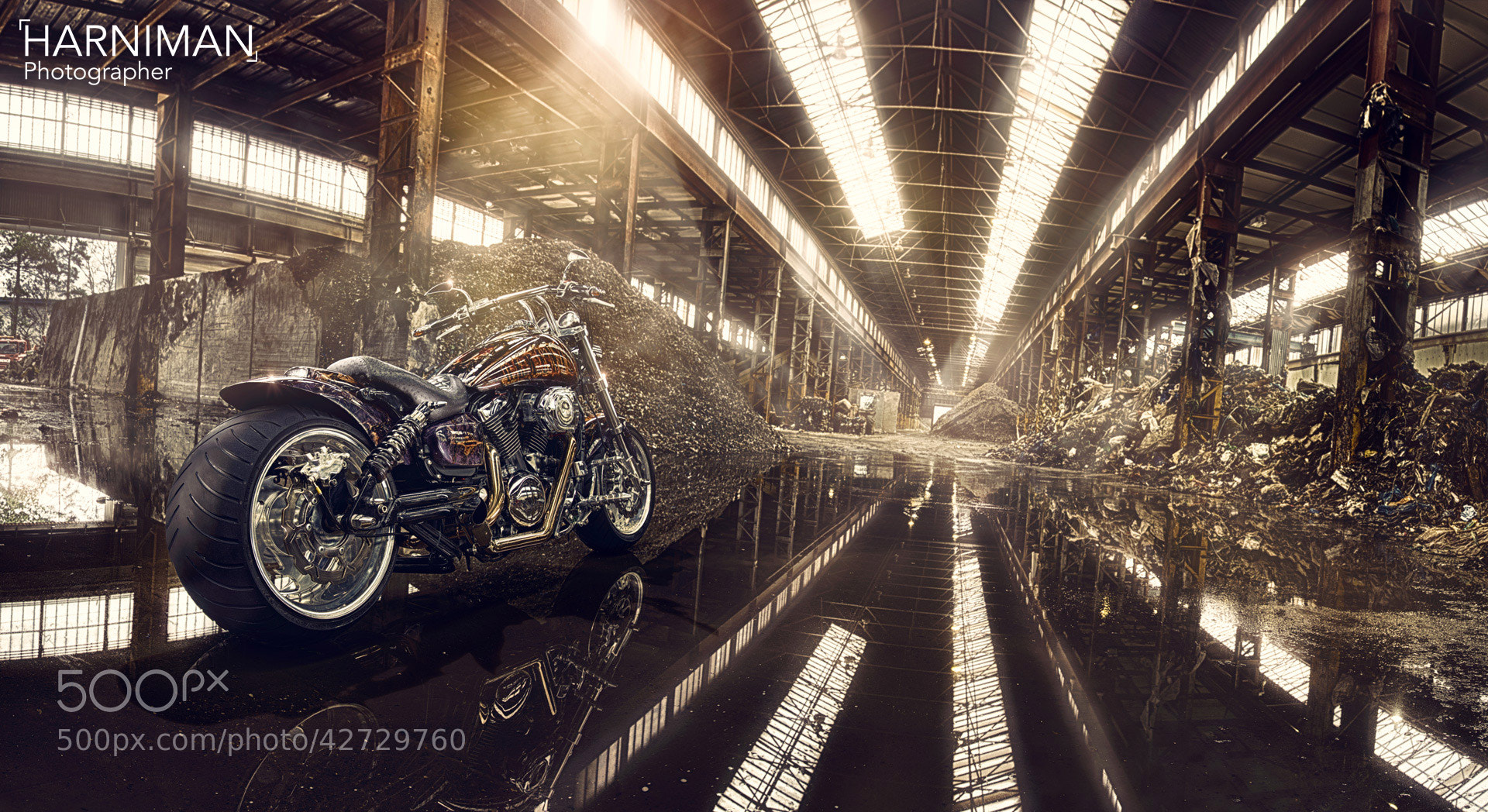 Photograph Demented, the custom Kawasaki by Nigel Harniman on 500px