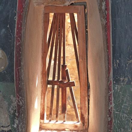 in an old church