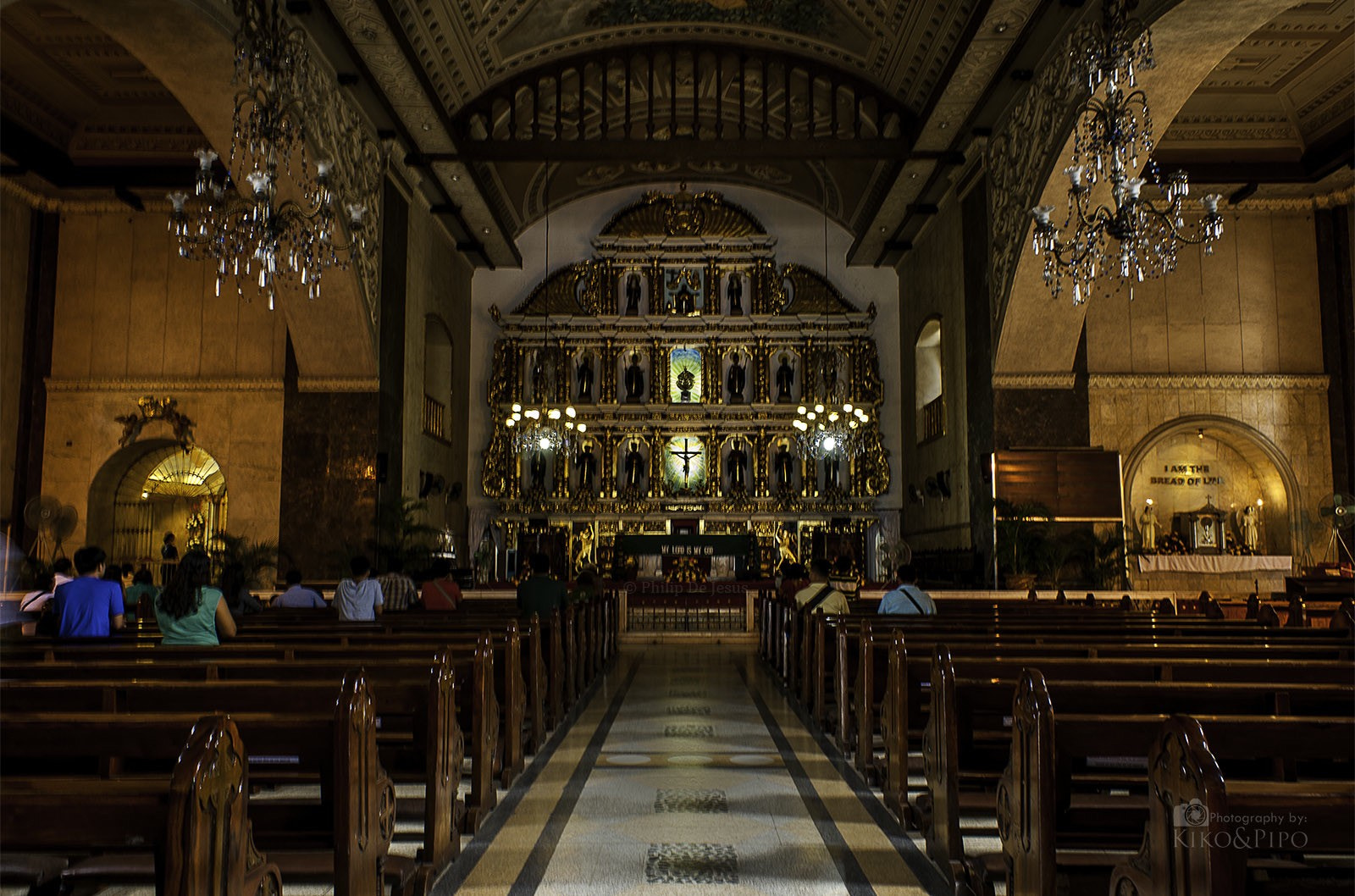 Photograph Inside the Basilica Menor Del Sto. Niño by Pipo De Jesus on 500px