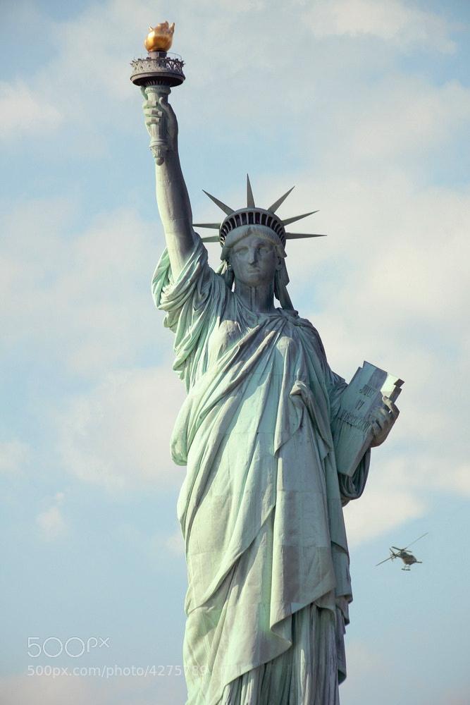 Photograph statue of liberty by Dara Pilyugina on 500px