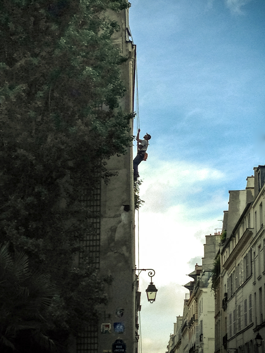 Photograph Parisian climber by Philippe CAP on 500px