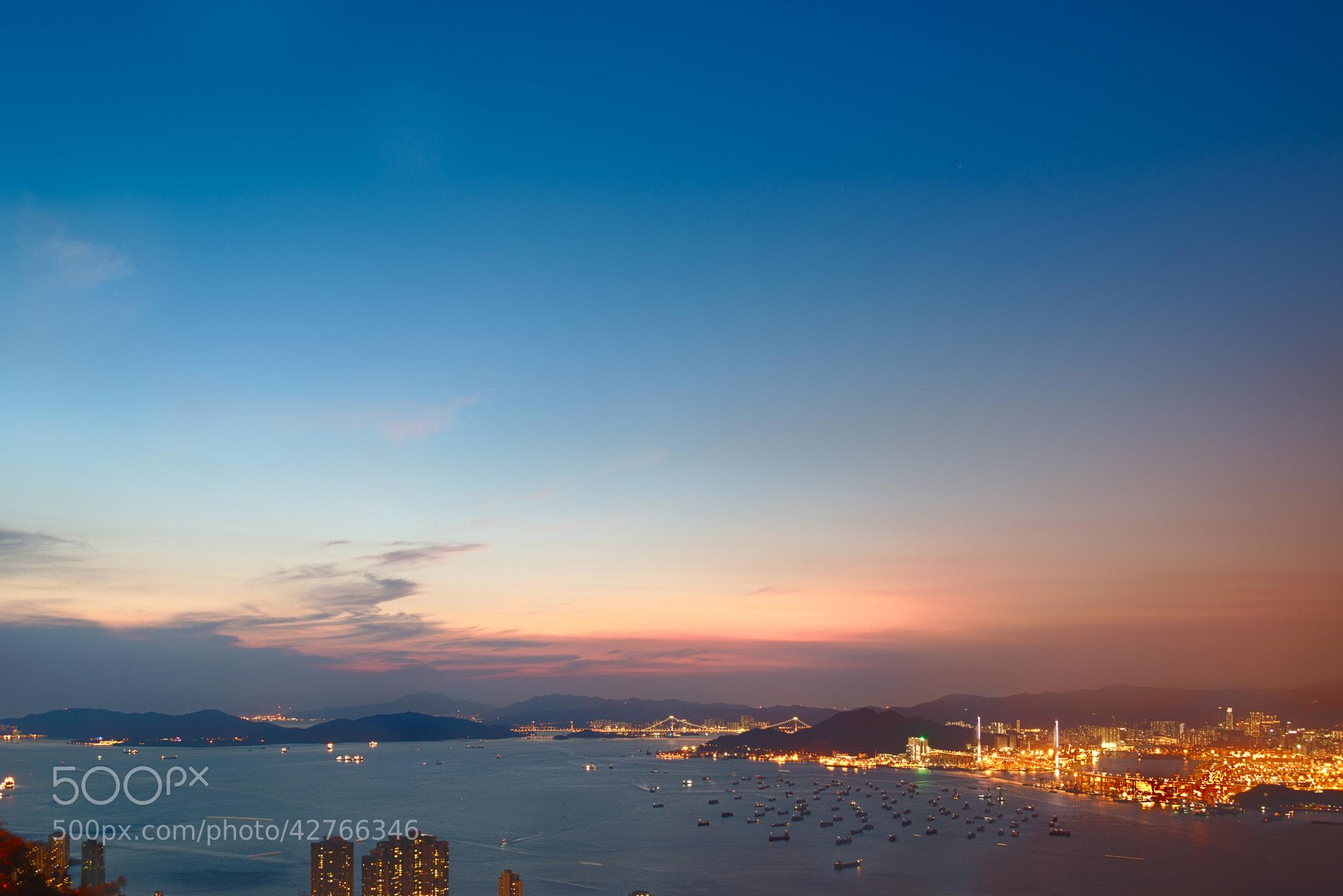 Clear light blue sky