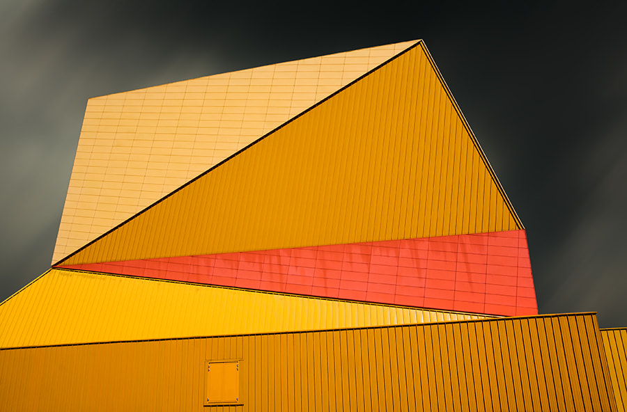 Photograph the yellow roof by Gilbert Claes on 500px