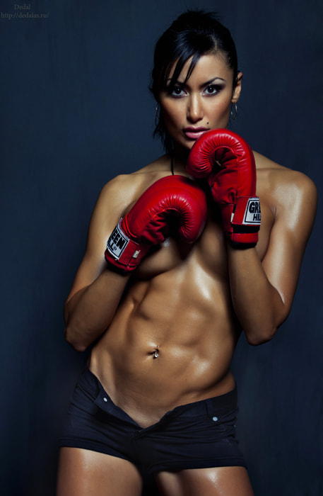 Photograph Woman the fighter by Vladimir Dedal Larionov on 500px