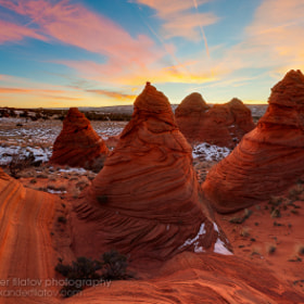 Sunset Over the Teepees by Alex Filatov (Filatov)) on 500px.com