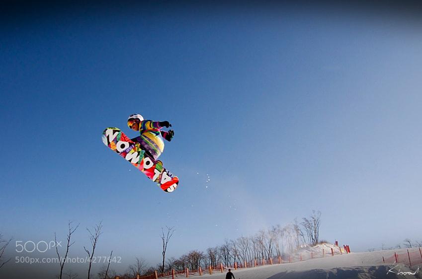 Photograph snowboard 1make by KIM MI on 500px