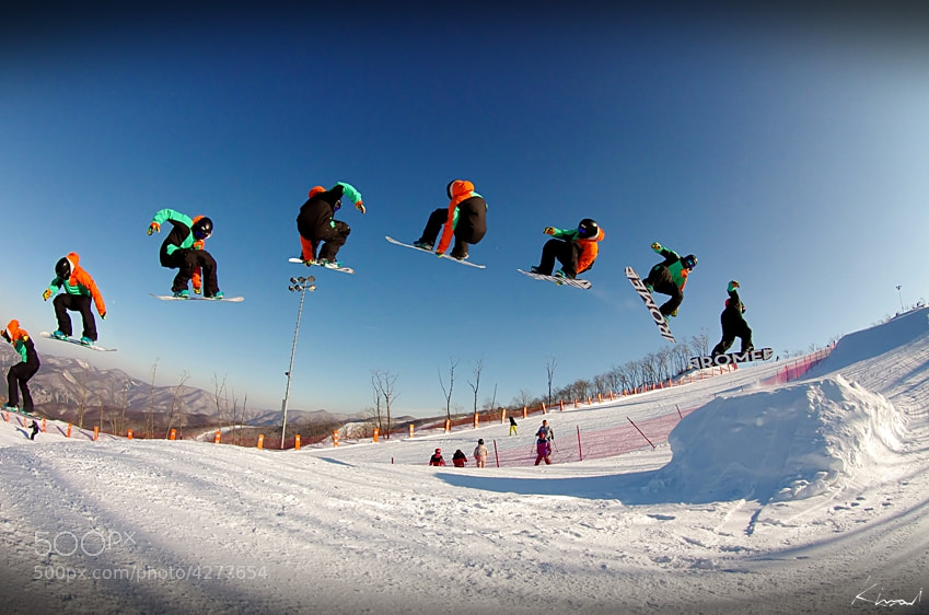 Photograph snowboard 1make by KIM MI on 500px