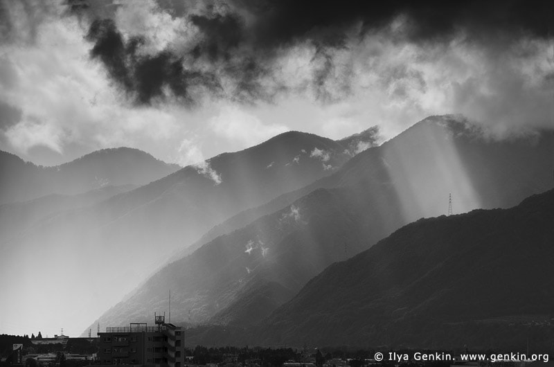 Photograph Storm over Matsumoto by Ilya Genkin on 500px