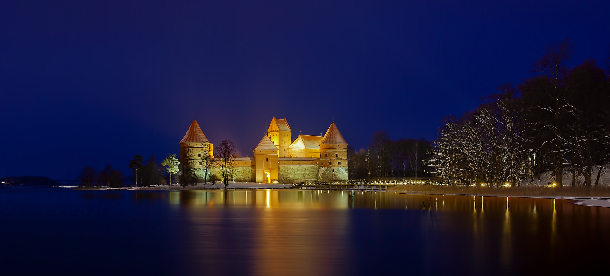 Photograph Amber Castle of Trakai by Laimonas Ciūnys on 500px