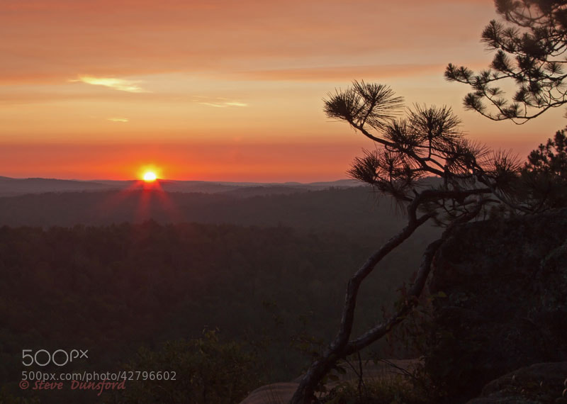Photograph Lookout Trail Sunset by Steve Dunsford on 500px