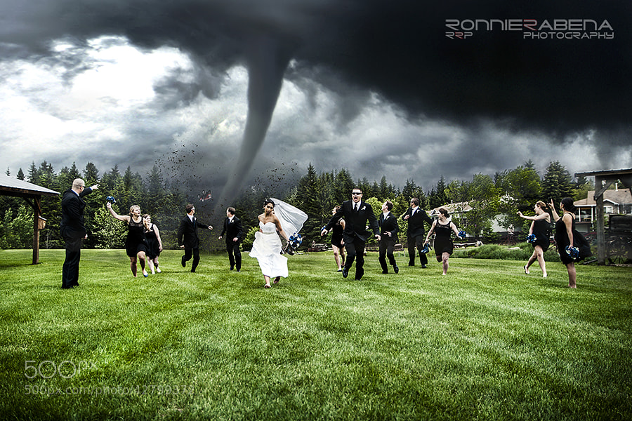 Photograph Twister Wedding by Ronnie Rabena on 500px