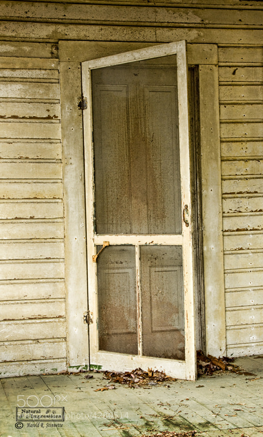 Photograph Old Screen Door By Harold Stinnette On 500px