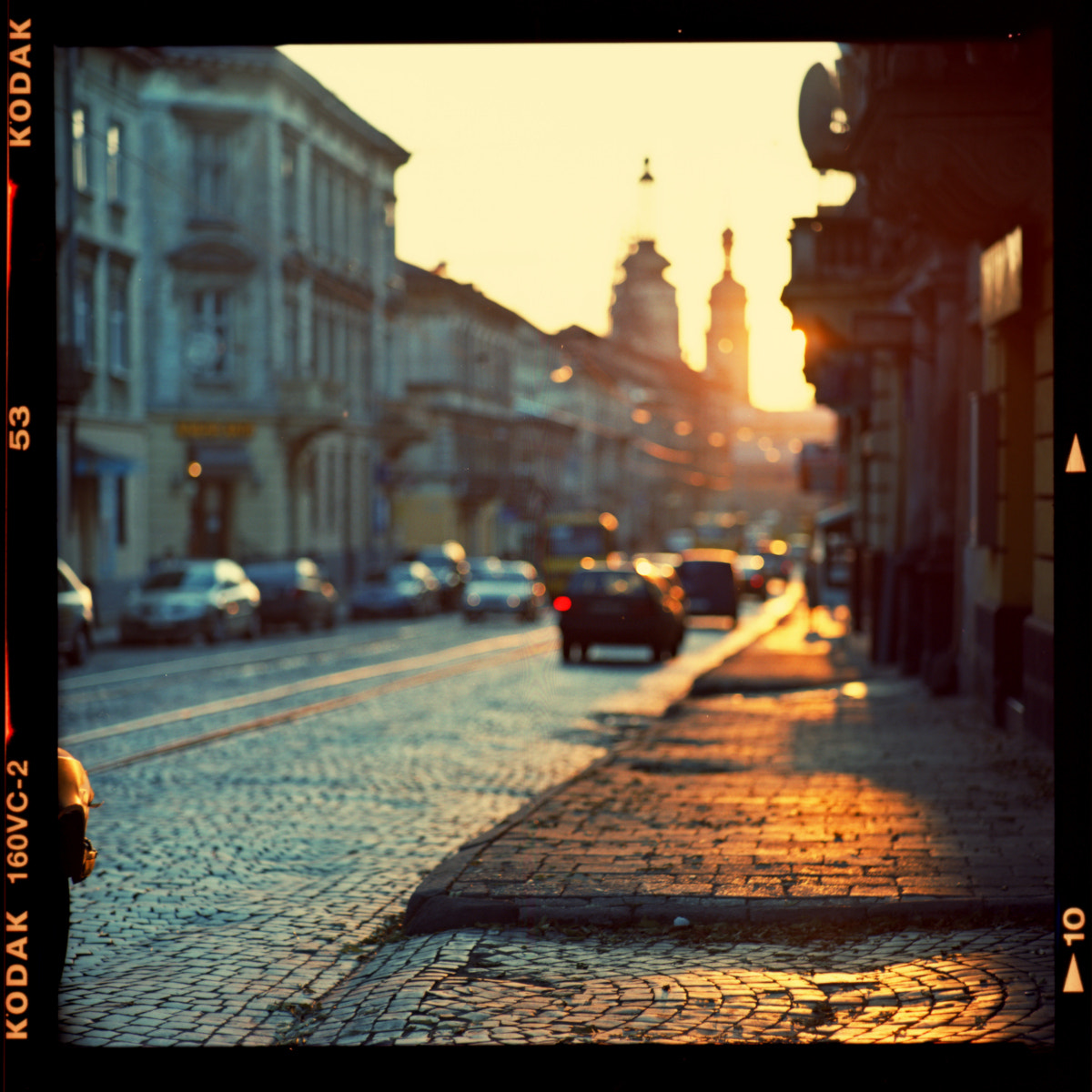 Photograph Sunset street by Denis Allbertovich on 500px