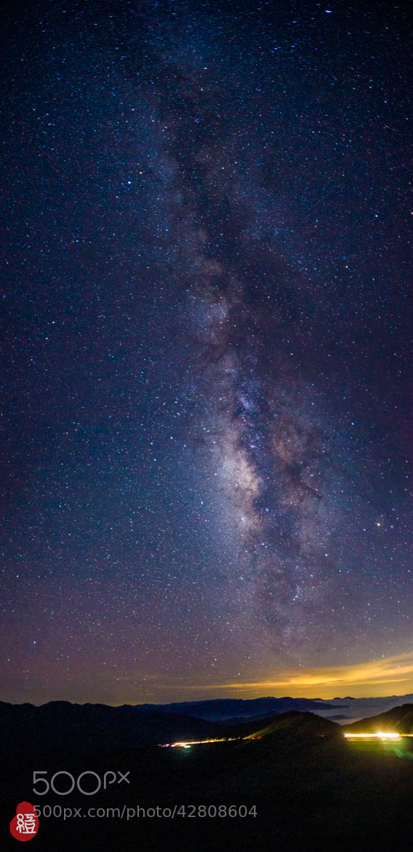 Photograph Galaxy, Hehuan Mountain by Red Bean Liu on 500px