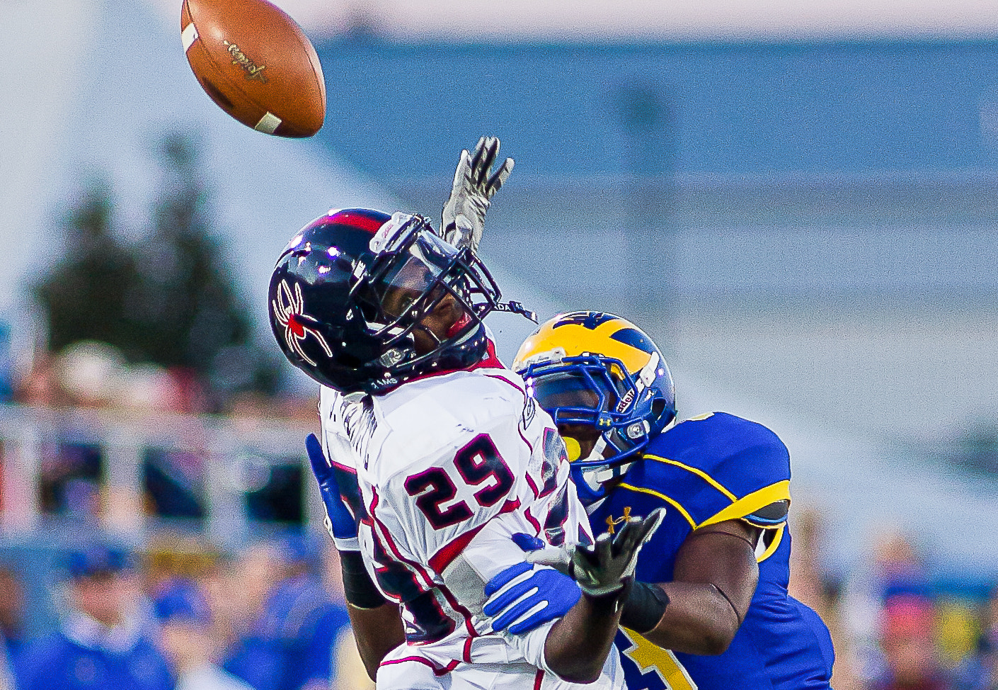 Photograph Richmond Wide Receiver Stephen Barnette #29 by Saquan Stimpson on 500px