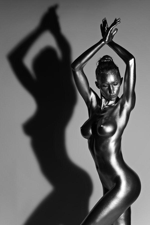 Silver Sculpture -3
