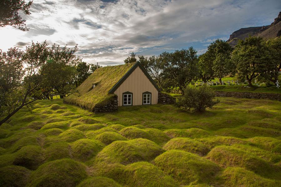 Hofskirkja Iceland de Menno Schaefer en 500px.com