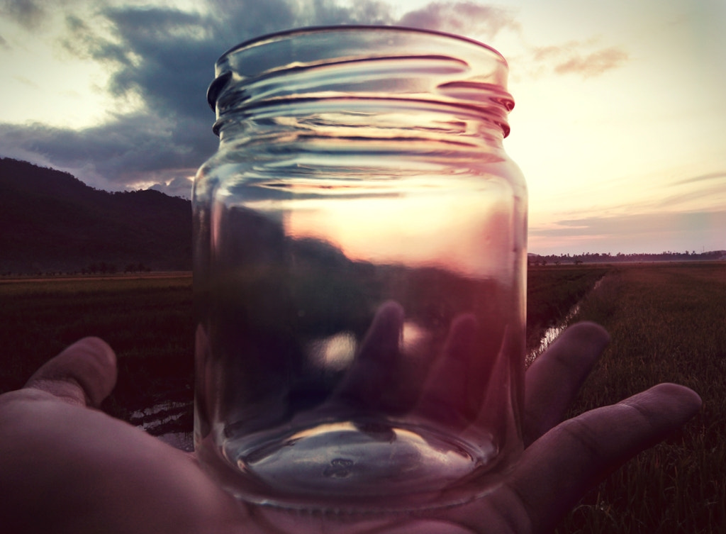 Photograph FILLING UP THE EMPTY JAR by Mustaqim Aris on 500px