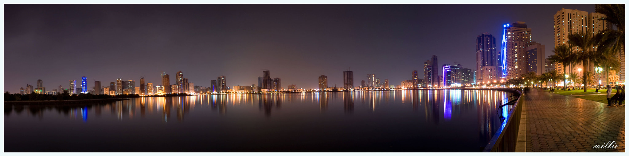 Photograph sharja uae @ night by willie centeno on 500px
