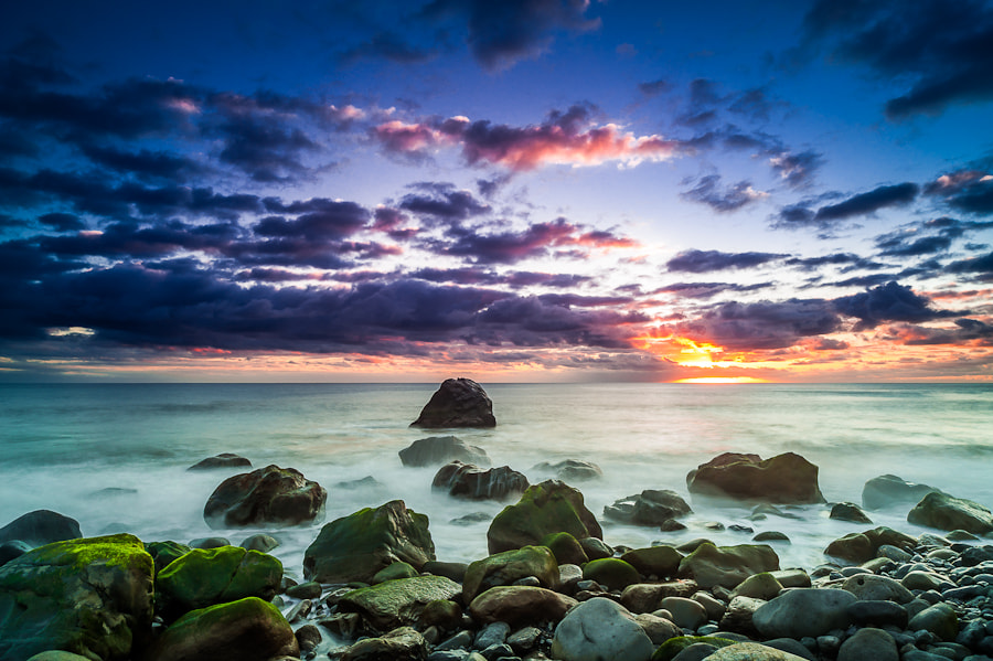 Photograph Madeira Sunset, Ponta do Sol (LR4 Beta) by Magnus Larsson on 500px