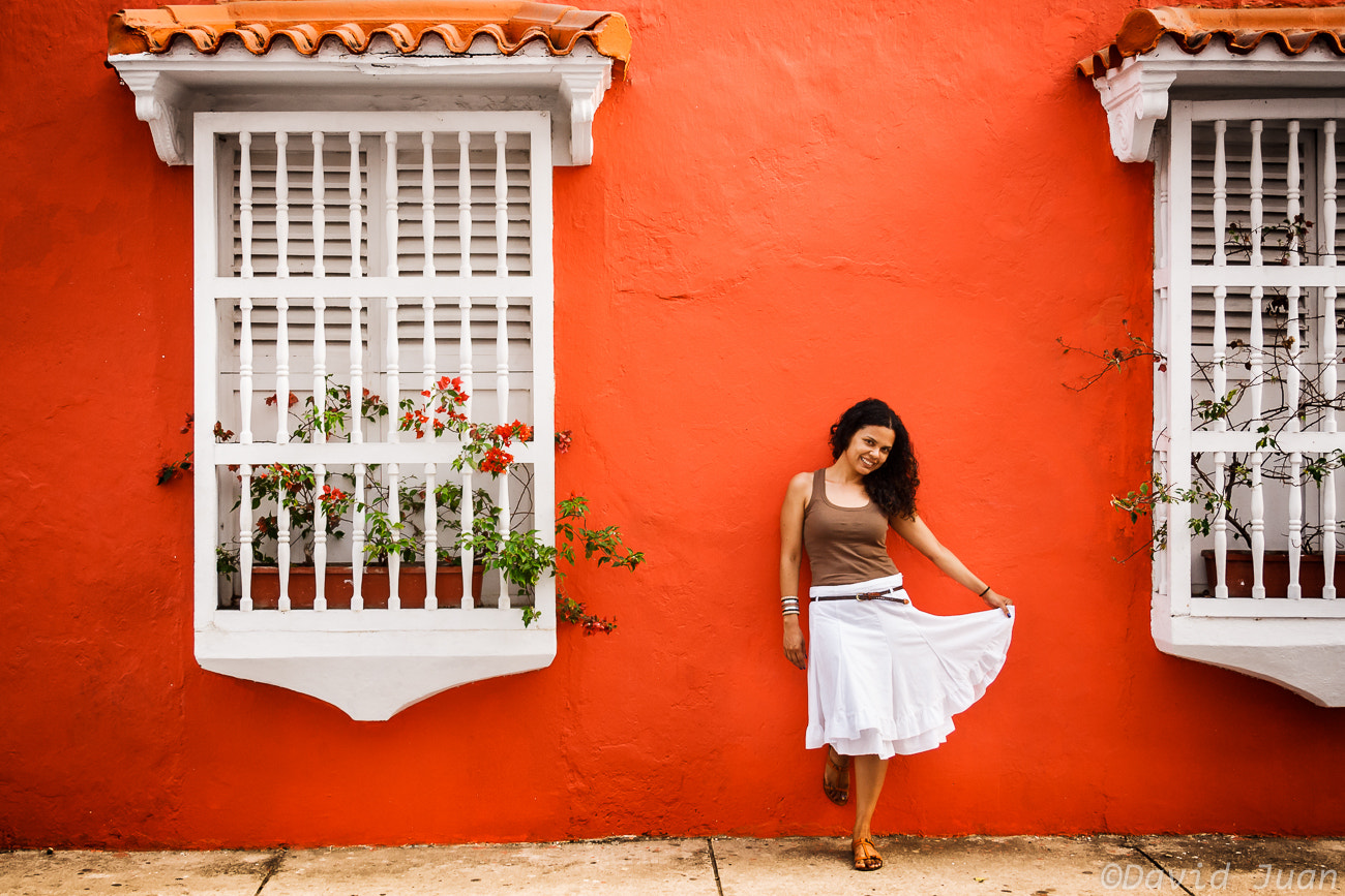 Photograph Happiness in red by David Juan on 500px