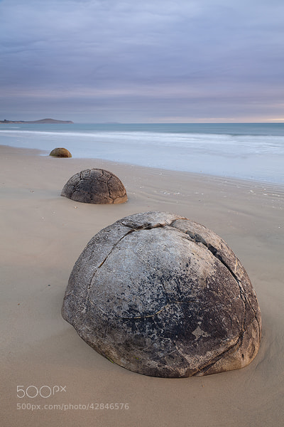 Photograph Moeraki Boulders, Otago Coast, New Zealand by Russell Pike on 500px
