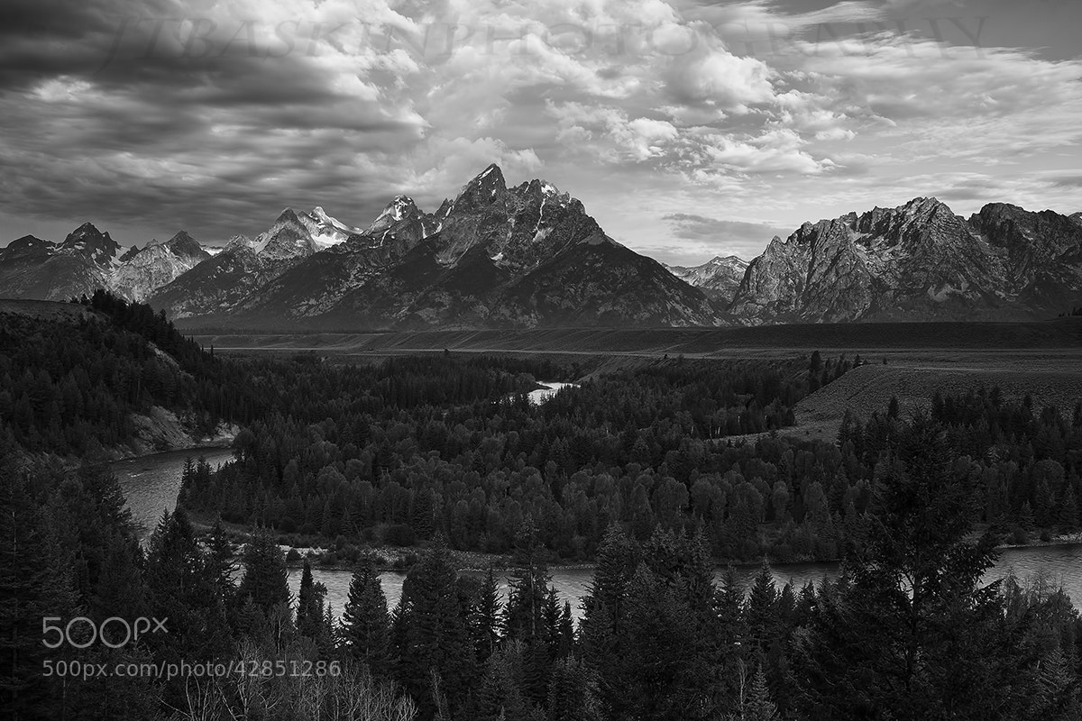 Photograph Snake River Overlook - Grand Tetons National Park by taylor baskin on 500px